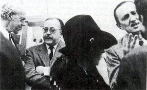 conversacion con Buero Vallejo y Ramón de Garcia Sol
