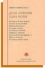 Obras completas Juan Antonio Gaya Nuño