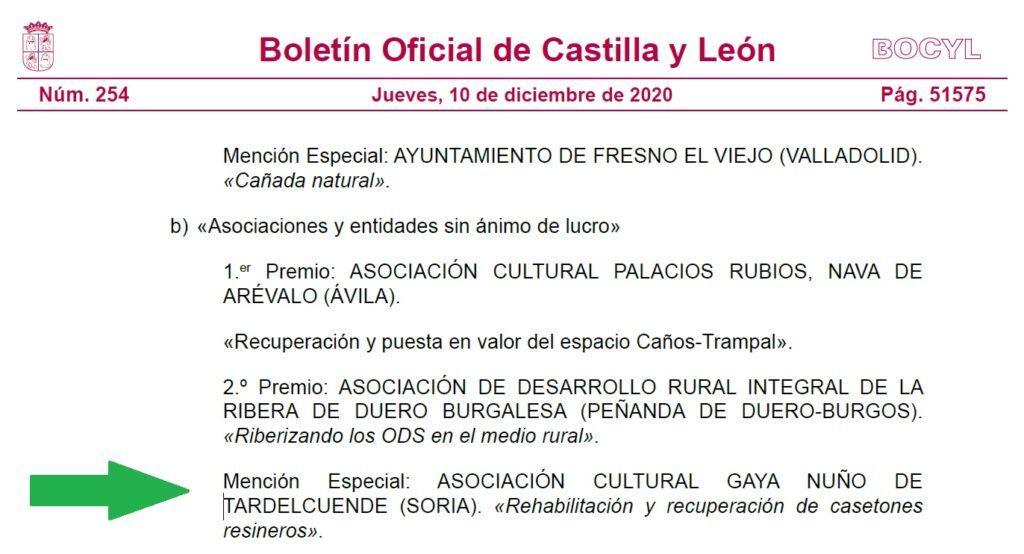 mención Boletin 10-12-2020